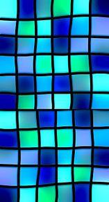 ステンドグラス  ブロックチェック プリ画像