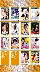 SKE48 TeamS プリ画像
