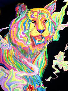 虎イラスト(美術作品)の画像(プリ画像)