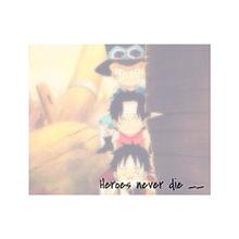 Heroes never dieの画像(プリ画像)
