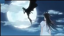 月夜》怪盗キッドのシルエット#青子の画像(プリ画像)
