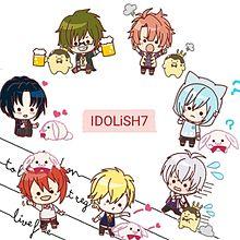 ぷちスタンプ IDOLiSH7