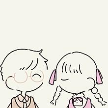 可愛いカップルイラストの画像(カップルイラストに関連した画像)