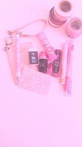 pinkの文具集めてるんです♡♡の画像(文具に関連した画像)