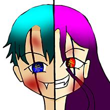 男女双子の鬼の画像(男女に関連した画像)