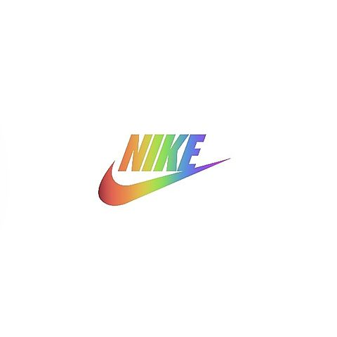 NIKEオリジナル作ったよ💜の画像(プリ画像)