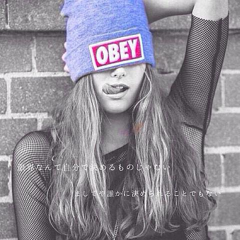 OBEY画像の画像(プリ画像)