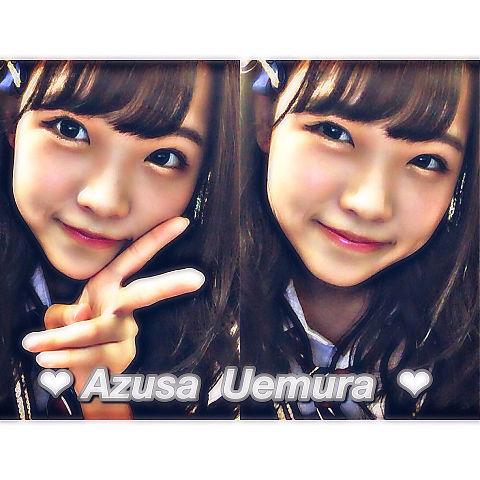 ❤︎ Uemura Azusa ❤︎保存はポチ❕の画像(プリ画像)