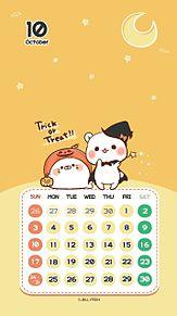 10月のカレンダーの画像(#カレンダーに関連した画像)