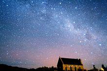 綺麗な夜空を見に行きたい プリ画像