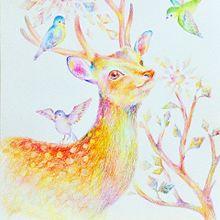 奈良鹿さん プリ画像