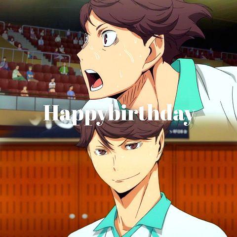 ハイキュー      及川さんHappy Birthday!!の画像 プリ画像