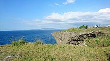 沖縄のどこかの岬 プリ画像