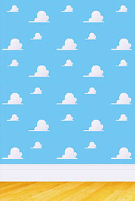 トイストーリーの雲. アンディの部屋