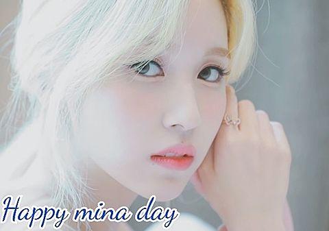 Happy mina dayの画像(プリ画像)
