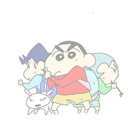 クレヨンしんちゃんぱすてるシンプルシュールの画像(プリ画像)