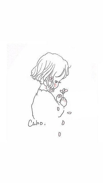 Cahoさんイラスト花占いの画像 プリ画像