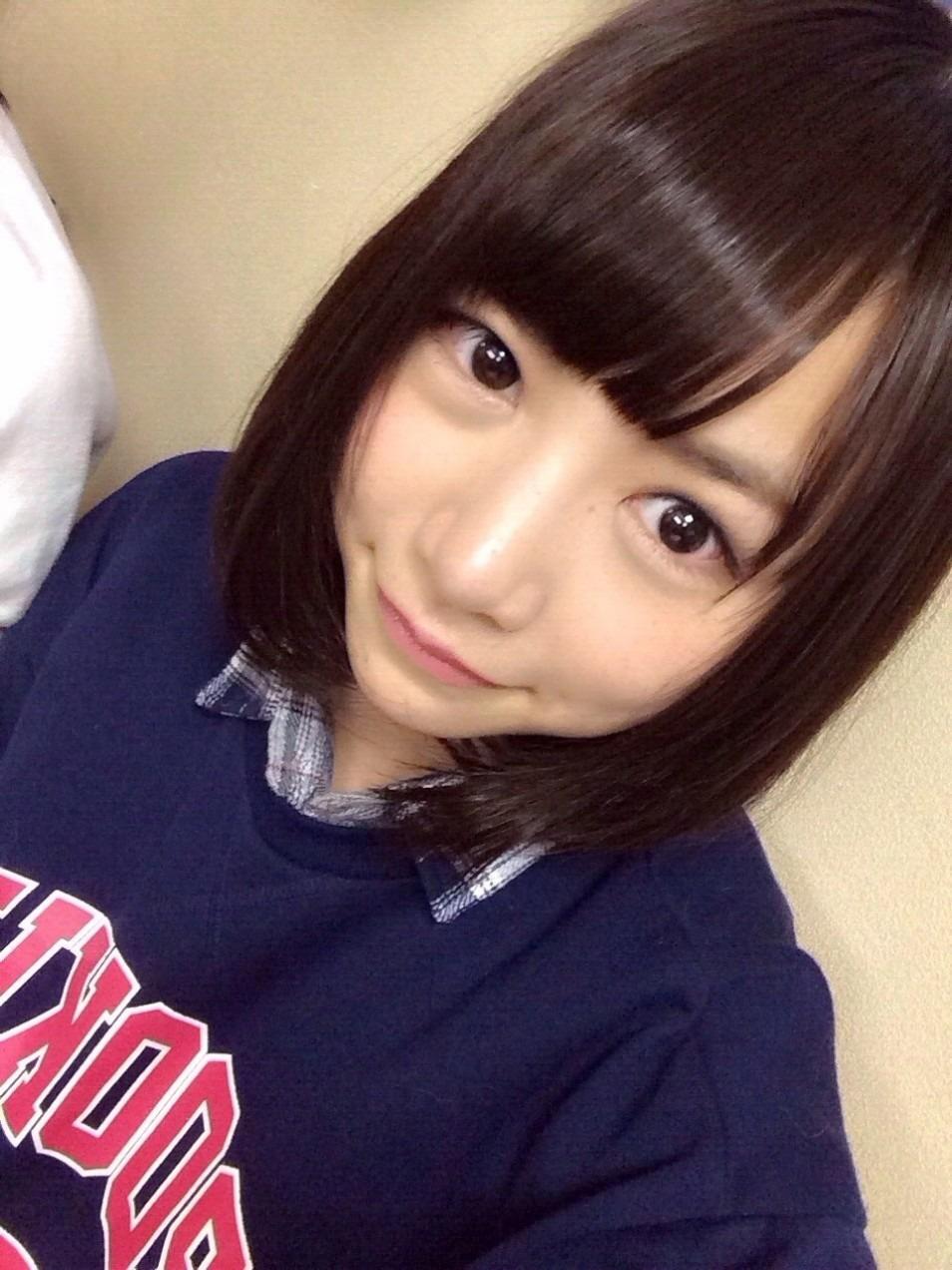 北野日奈子さんの自撮り