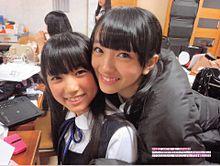矢吹奈子 HKT48 向井地美音 AKB48 友撮の画像(友撮に関連した画像)