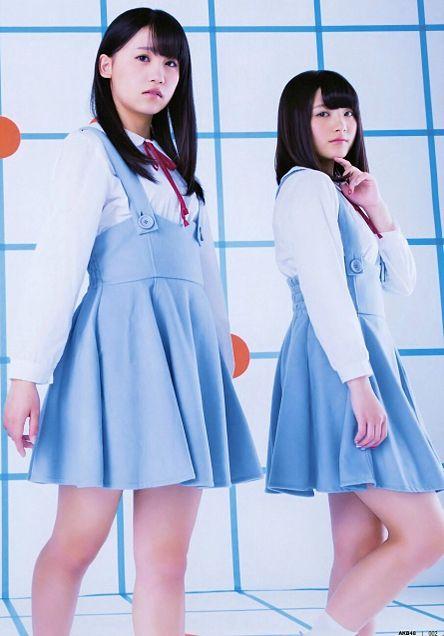 UTB3月号 AKB48 小嶋真子 大和田南那の画像 プリ画像