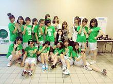 阿部マリア 向井地美音 山本彩 AKB48大運動会 NMB48の画像(プリ画像)