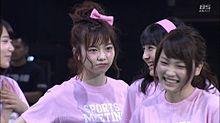 宮脇咲良 島崎遥香 大和田南那 川栄李奈 AKB48大運動会の画像(プリ画像)