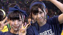 佐藤七海 チーム8 佐藤朱 AKB48大運動会の画像(佐藤朱に関連した画像)
