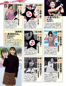小嶋陽菜 渡辺麻友 FLASH  47都道府県別最強アイドルの画像(プリ画像)