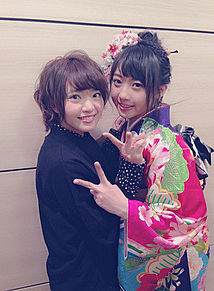 成人式 矢方美紀 木崎ゆりあ AKB48の画像(プリ画像)
