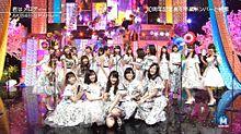 宮脇咲良 HKT48 3/25 Mステ AKB48 NMB48の画像(プリ画像)