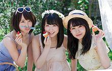 川本紗矢 AKB48 小嶋真子 高橋朱里 BOMBの画像(プリ画像)