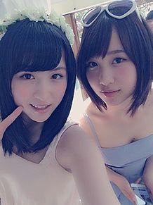 AKB48 川本紗矢 高橋朱里 BOMBの画像(プリ画像)