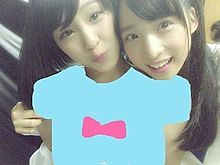 チーム8 AKB48 山田菜々美 小栗有以の画像(プリ画像)