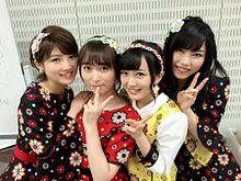 横山由依 向井地美音 翼はいらない AKB48 Mステの画像(プリ画像)