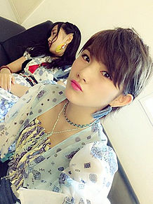 岡田奈々 向井地美音 AKB48選抜総選挙の画像(プリ画像)