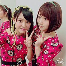 AKB48 チーム8 山田菜々美 高橋朱里の画像(プリ画像)