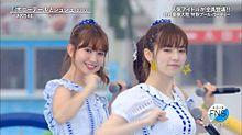 FNS 小嶋陽菜 島崎遥香 AKB48の画像(プリ画像)