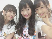 向井地美音 27時間テレビ AKB48 北原里英 横山由依の画像(プリ画像)