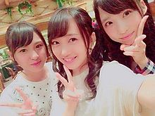 向井地美音 AKB48 チーム8 山田菜々美 小栗有以の画像(プリ画像)