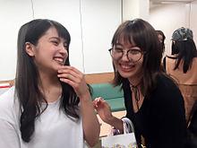 木崎ゆりあ 入山杏奈 AKB48の画像(プリ画像)