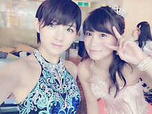 キャバすか学園 AKB48 小嶋真子 岡田奈々の画像(プリ画像)