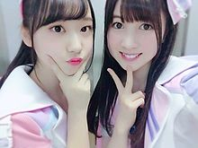 AKB48 阿部芽唯 永野芹佳 チーム8  3の画像(プリ画像)