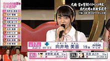 AKB48選抜総選挙 向井地美音の画像(総選挙に関連した画像)