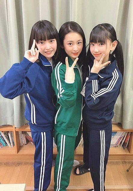 AKB48 坂川陽香 長谷川百々花 徳永羚海 チーム8の画像(プリ画像)