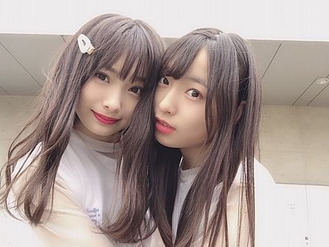 AKB48  梅山恋和 NMB48 久保怜音の画像(プリ画像)