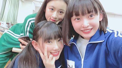 AKB48  チーム8 徳永羚海 長谷川百々花 坂川陽香の画像(プリ画像)