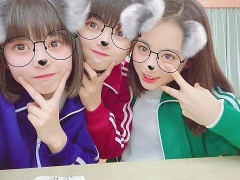 AKB48  チーム8 坂川陽香 福留光帆 長谷川百々花の画像(プリ画像)