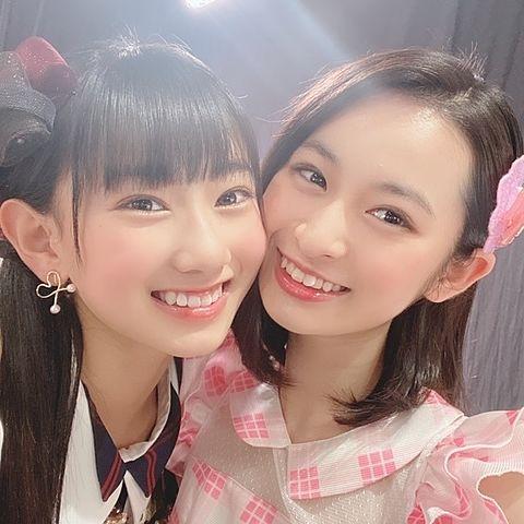 AKB48  チーム8 徳永羚海 長谷川百々花の画像(プリ画像)