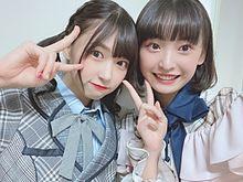 AKB48  チーム8 橋本陽菜 坂川陽香 プリ画像