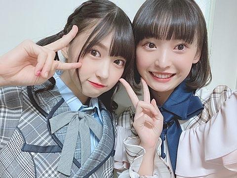 AKB48  チーム8 橋本陽菜 坂川陽香の画像(プリ画像)